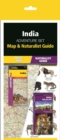 India Adventure Set : Map & Naturalist Guide - Book