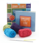 Granny Squares, One Square at a Time / Scarf Kit : Includes hook and yarn for making a granny square scarf - Featuring a 32-page book with instructions and ideas - Book