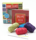 Granny Squares, One Square at a Time / Amulet Bag Kit : Includes hook and yarn for making two amulet bag necklaces - Featuring a 32-page book with instructions and ideas - Book
