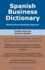 Spanish Business Dictionary : Multicultural Business Spanish - eBook
