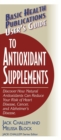 User's Guide to Antioxidant Supplements - eBook