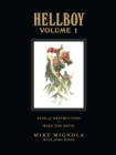 Hellboy Library Volume 1: Seed of Destruction and Wake the Devil - Book