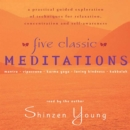 Five Classic Meditations : A Practical Guided Exploration of Techniques for Relaxation, Concentration and Self-Awareness - eAudiobook