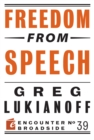 Freedom from Speech - eBook
