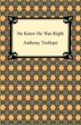 He Knew He Was Right - eBook