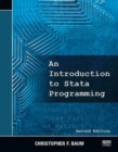 An Introduction to Stata Programming, Second Edition - Book