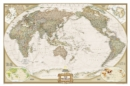 World Executive, Pacific Centered, Tubed : Wall Maps World - Book