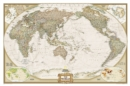 World Executive, Pacific Centered, Laminated : Wall Maps World - Book