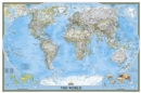 World Classic, Poster Size, Tubed : Wall Maps World - Book