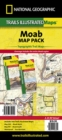 Moab, Map Pack Bundle : Trails Illustrated Other Rec. Areas - Book