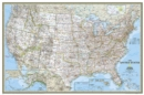 United States Classic, Poster Size, Tubed : Wall Maps U.S. - Book