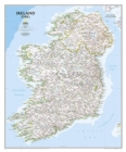 Ireland Classic, Tubed : Wall Maps Countries & Regions - Book