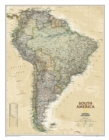 South America Executive, Laminated : Wall Maps Continents - Book