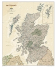 Scotland Executive, Laminated : Wall Maps Countries & Regions - Book