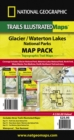 Glacier/waterton Lakes National Parks,map Pack Bundle : Trails Illustrated National Parks - Book