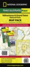 Yellowstone/Grand Teton National Parks, Map Pack Bundle : Trails Illustrated National Parks - Book