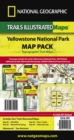 Yellowstone National Park, Map Pack Bundle : Trails Illustrated National Parks - Book