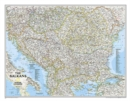 The Balkans Classic, Laminated : Wall Maps Countries & Regions - Book