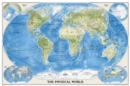 The Physical World, Poster Size, Tubed : Wall Maps World - Book