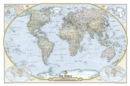 National Geographic Society 125th Anniversary World Map Tubed : Wall Maps Countries & Regions - Book