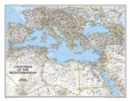 Mediterranean Region Classic, Tubed : Wall Maps - Countries & Regions - Book