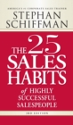 The 25 Sales Habits of Highly Successful Salespeople - Book
