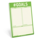 Knock Knock #Goals Pad - Book