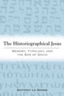 The Historiographical Jesus : Memory, Typology, and the Son of David - Book