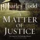 A Matter of Justice - eAudiobook