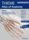 General Anatomy and Musculoskeletal System (Latin) - Book
