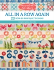 Moda All-Stars - All in a Row Again : 23 Row-by-Row Quilt Designs - eBook