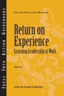 Return on Experience - eBook