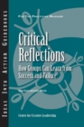 Critical Reflections: How Groups Can Learn from Success and Failure - eBook