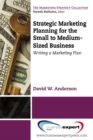 Strategic Marketing Planning for the Small to Medium Sized Business : Writing a Marketing Plan - eBook