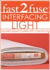 "fast2fuse Light Bolt 20"" x 10 yards : Double-Sided Fusible Stiff Interfacing - Book"