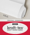 kraft-tex (TM) Basics Roll, White : Kraft Paper Fabric - Book