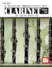 Classical Repertoire for Clarinet Volume One - eBook