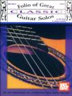 Folio of Great Classic Guitar Solos - eBook