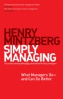 Simply Managing : What Managers Do - and Can Do Better - eBook