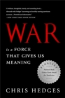 War Is a Force that Gives Us Meaning - Book