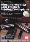 Blues Harmonica Jam Tracks & Soloing Concepts #1 - eBook