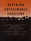 Defining Sustainable Forestry - eBook