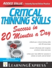 Critical Thinking Skills Success in 20 Minutes a Day, 3rd Edition - eBook