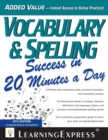 Vocabulary & Spelling Success in 20 Minutes a Day - eBook