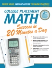 College Placement Math Success in 20 Minutes a Day - eBook