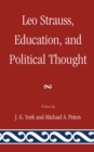 Leo Strauss, Education, and Political Thought - eBook