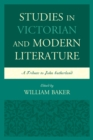 Studies in Victorian and Modern Literature : A Tribute to John Sutherland - eBook