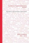 Foundations of Applied Mathematics, Volume 2 : Algorithms, Approximation, Optimization - Book