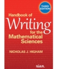 Handbook of Writing for the Mathematical Sciences - Book