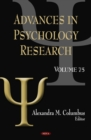 Advances in Psychology Research. Volume 75 - eBook